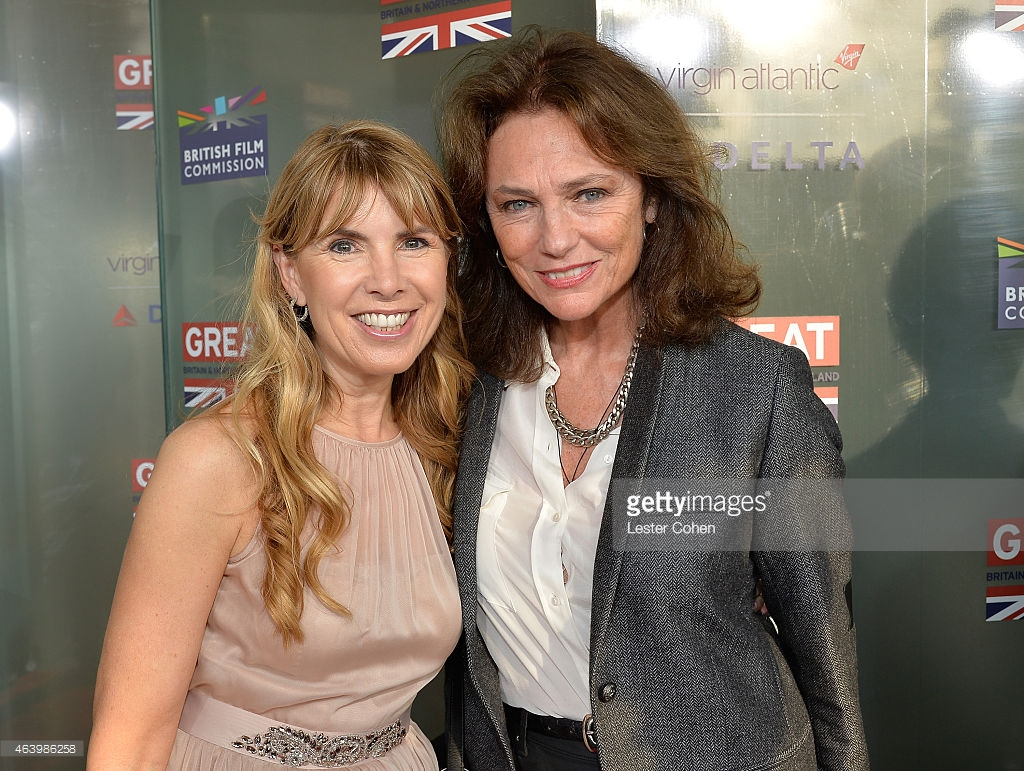 Julia Verdin and actress Jacqueline Bisset attend the GREAT British film reception.