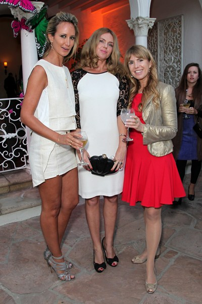 Julia Verdin attends BritWeek opening party