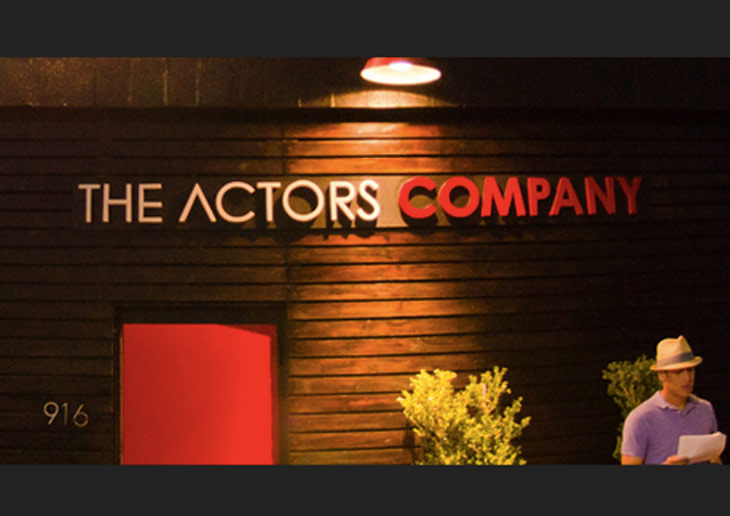 Julia Verdin speaks at The Actor's Company 'Manager Showcase'